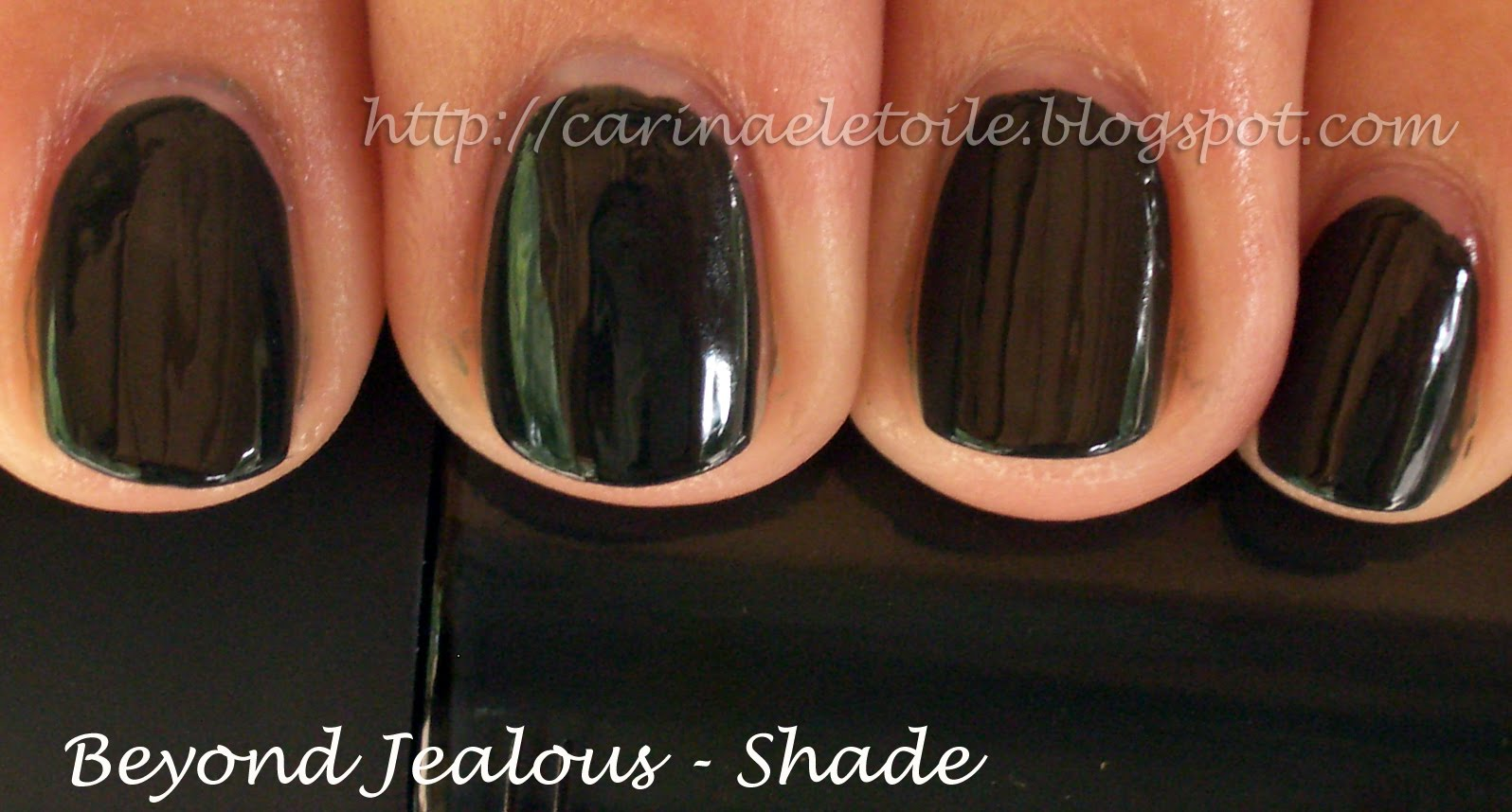 MAC Cosmetics, Fall 2009 – Beyond Jealous nail polish swatch ...