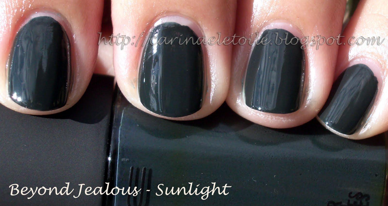 MAC Cosmetics, Fall 2009 – Beyond Jealous nail polish swatch ...