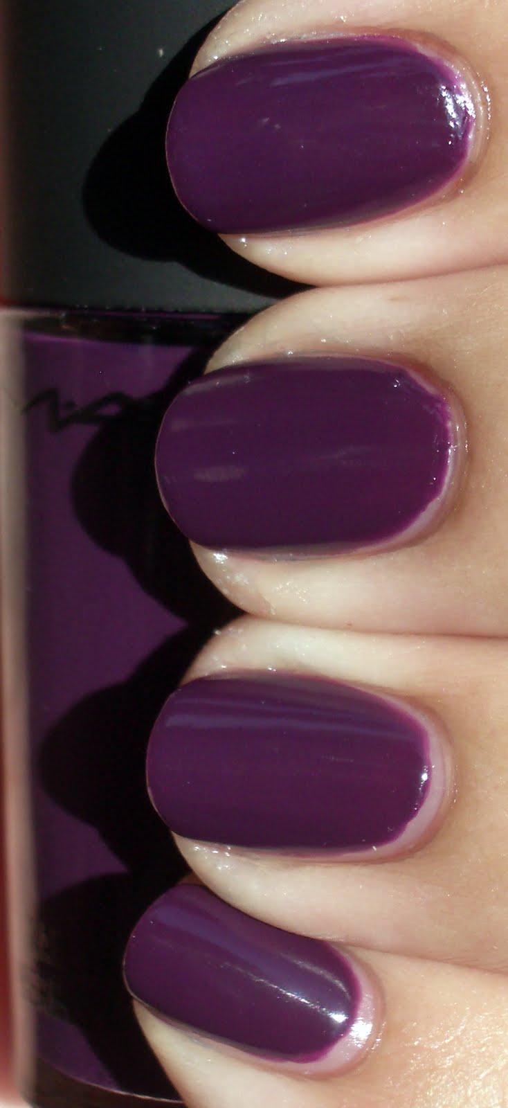 MAC Cosmetics, Spring 2010 – Imperial Splendour nail polish swatch ...